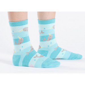 Unicorn Of The Sea Youth Crew Socks Sock It To Me