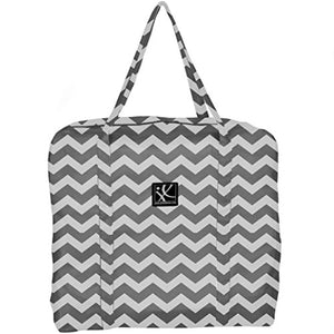 JL Childress Grey Chevron Booster Go-Go Bag