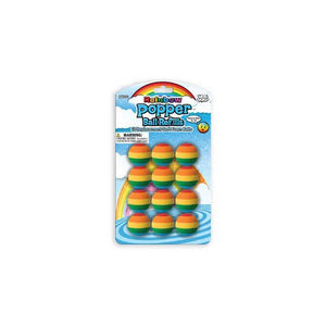 Hog Wild - Popper Toy, Popper Ball Refills, Rainbow