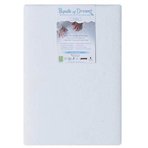 "Bundle of Dreams Flagship 5"" 2 Stage Mini Crib Mattress"