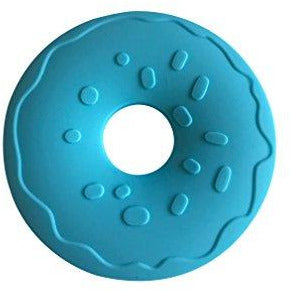 Little Teether-Donut-Cyan