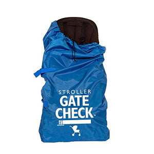 JL Childress Blue Gate Check Bag for Std/Double Strollers