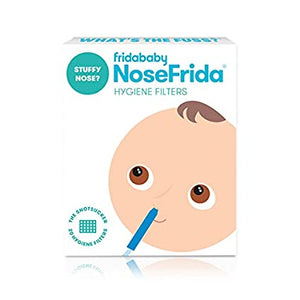Frida Baby Nosefrida Nasal Aspirator  4 replacement hygiene filters,PLUS an additional 40 filters