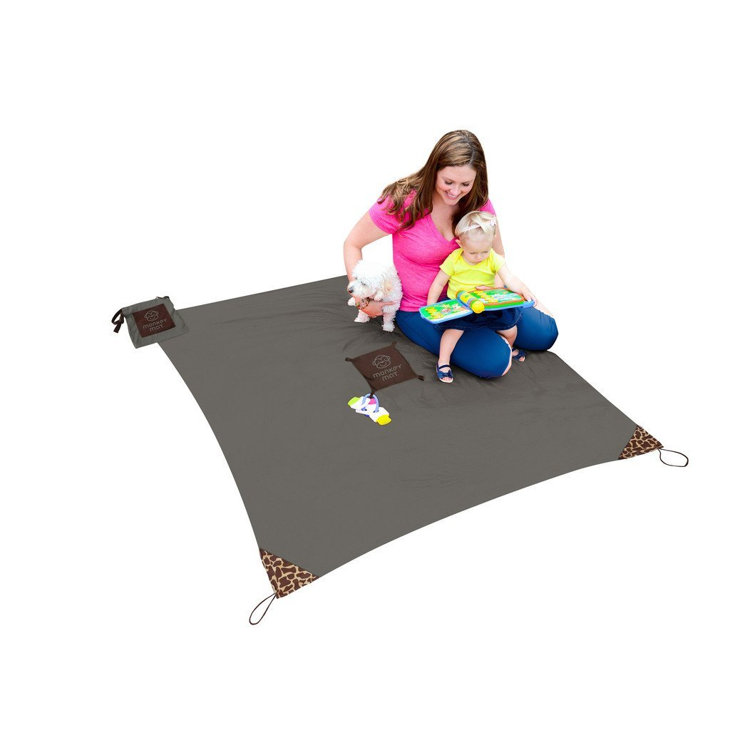 Monkey Mat, Your Portable Floor, Gray Groove