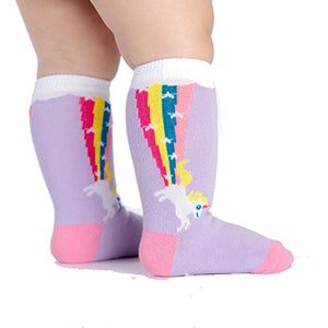 Sock It To Me Rainbow Blast Knee High Socks
