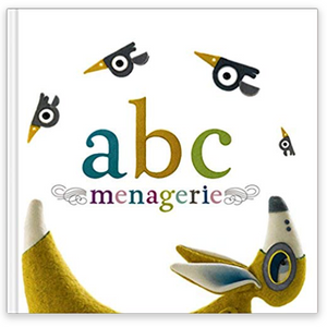 Compendium Inc. ABC Menagerie Book