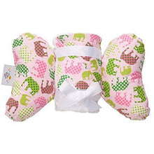 Load image into Gallery viewer, Baby Head Support Pillow & Matching Blanket Gift Set