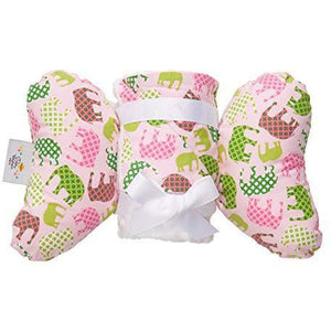 Baby Head Support Pillow & Matching Blanket Gift Set