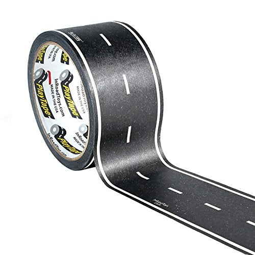 Inroad Toys PlayTape Classic Road Series Road, Black, 60' x 2