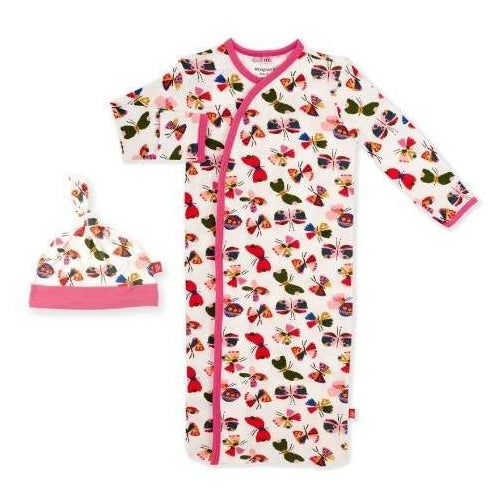 Magnetic Me Flitter Flutter Magnetic Gown & Hat Set, Newborn