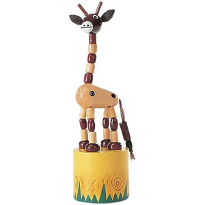 The Original Toy Company Small Thumb Puppet Giraffe