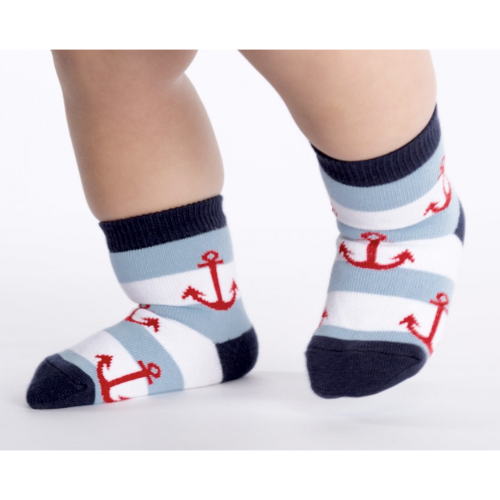 Anchors Toddler Crew Socks Sock It To Me