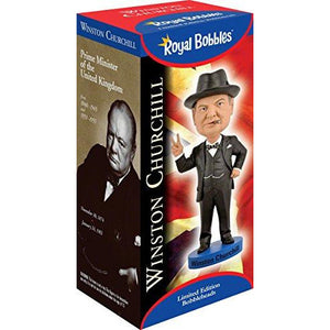 Royal Bobbles Winston Churchill v2 Bobblehead