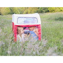 Load image into Gallery viewer, VW Camper Van Pop Up Play Tent for Kids, Red