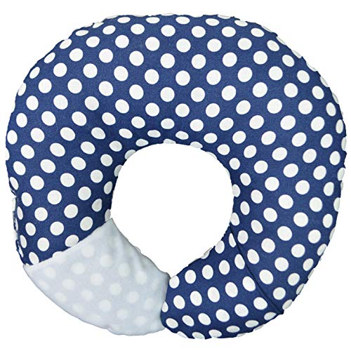 Babymoon Pod - For Flat Head Syndrome & Neck Support (Navy Dot)