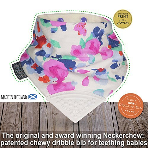 Cheeky Chompers - Neckerchew, Joules Designs, Winter Bloom