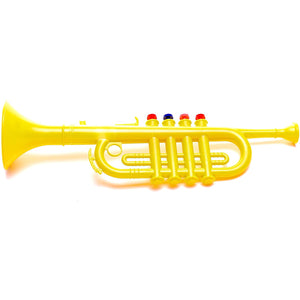 The Original Toy Company Antonelli Yellow Trumpet Horn for Kids