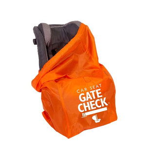JL Childress Orange Gate Check Bag for Car Seats