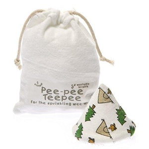 Pee-pee Teepee in Laundry Bag