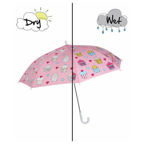 Magic Forest Pink Cupcake Umbrella