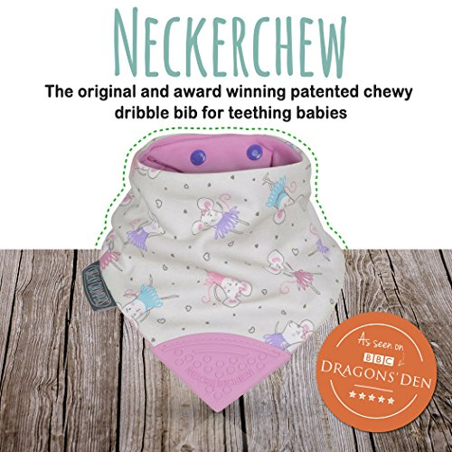 Cheeky Chompers - Neckerchew, Patterned, Ballerina Mice