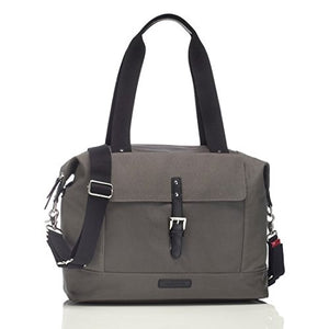 Storksak Charcoal Gray Jude Convertible Backpack Diaper Bag