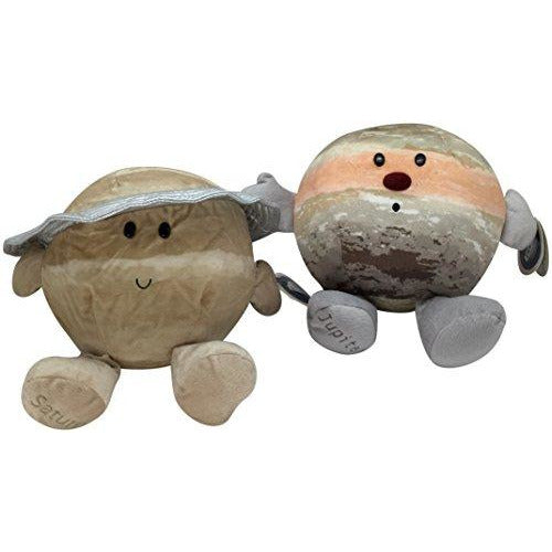 Celestial Buddies Gas Giants Plush Set Jupiter Saturn