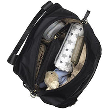 Load image into Gallery viewer, Storksak Black Alexa Diaper Bag, One Size
