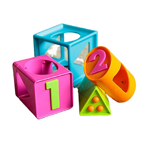 Fat Brain Toys Smarty Cube 1-2-3 Toy