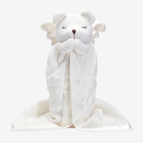 Elegant Baby Mini Prayer Bear Blankie