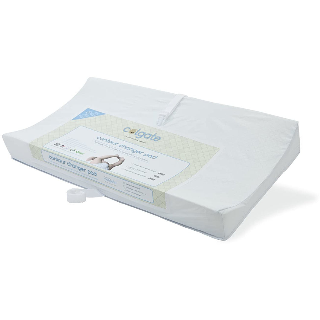 Colgate-Two Sided Changing Table Contour Pad