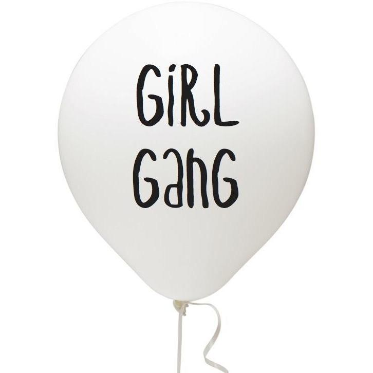 Fun Club! Assorted Girl Gang Balloons
