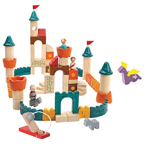 PlanToys Fantasy Blocks Building Kit