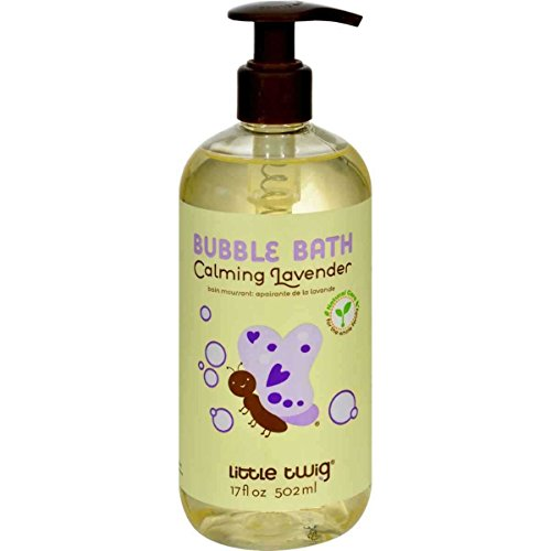 Little Twig Calming Lavender Bubble Bath, 17 fl oz