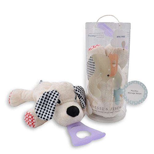 Dog 4 In 1 Pacifier Holder Nissi & Jireh
