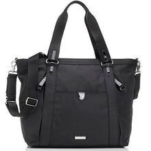Load image into Gallery viewer, Storksak Black Cleo Shoulder Bag Diaper Bag