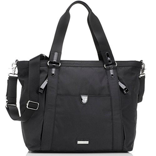 Storksak Black Cleo Shoulder Bag Diaper Bag