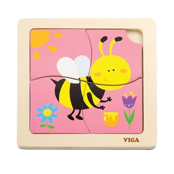 The Original Toy Company Bee First Puzzles