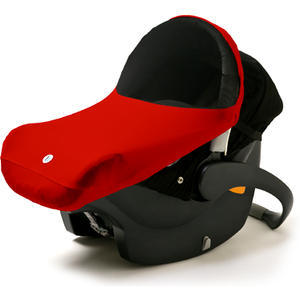 Imagine Baby THE SHADE Red Infant Carseat Canopy