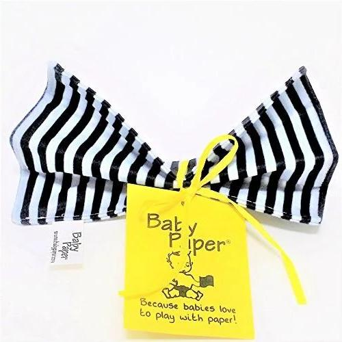 Baby Paper Black & White Stripe Crinkly Baby Toy