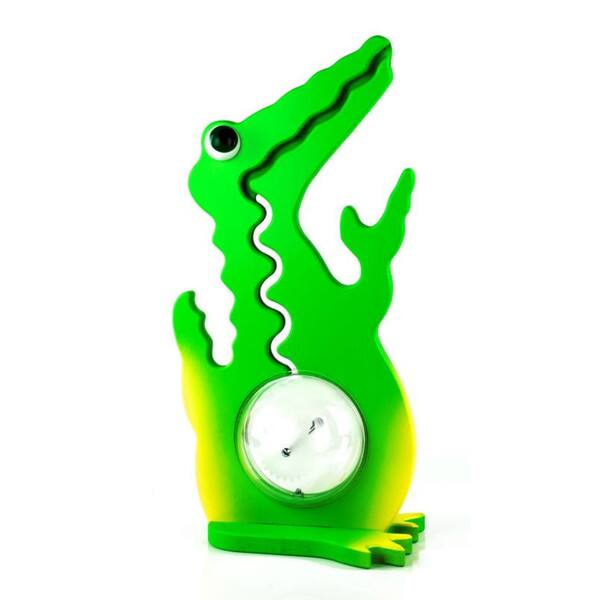 Big Belly Banks Wooden Coin Bank, Alligator