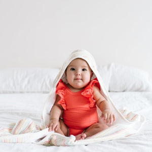 Copper Pearl Premium Knit Hooded Bath Towel, Rainee