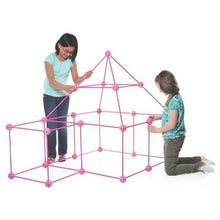 Load image into Gallery viewer, Crazy Forts Set Princess Playset Everest Toys - 69 Pieces
