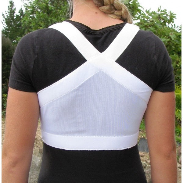 Equifit White Shouldersback Posture Support Lite, Medium