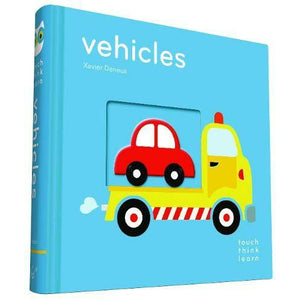 Vehicles - Touch Think Learn Book