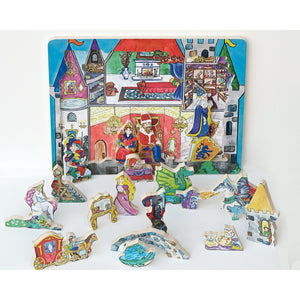 Flipzles Castle Puzzle and Play Set