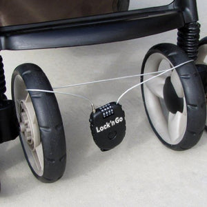 PBnJ Baby Lock n Go Retractable Stroller Lock, Black