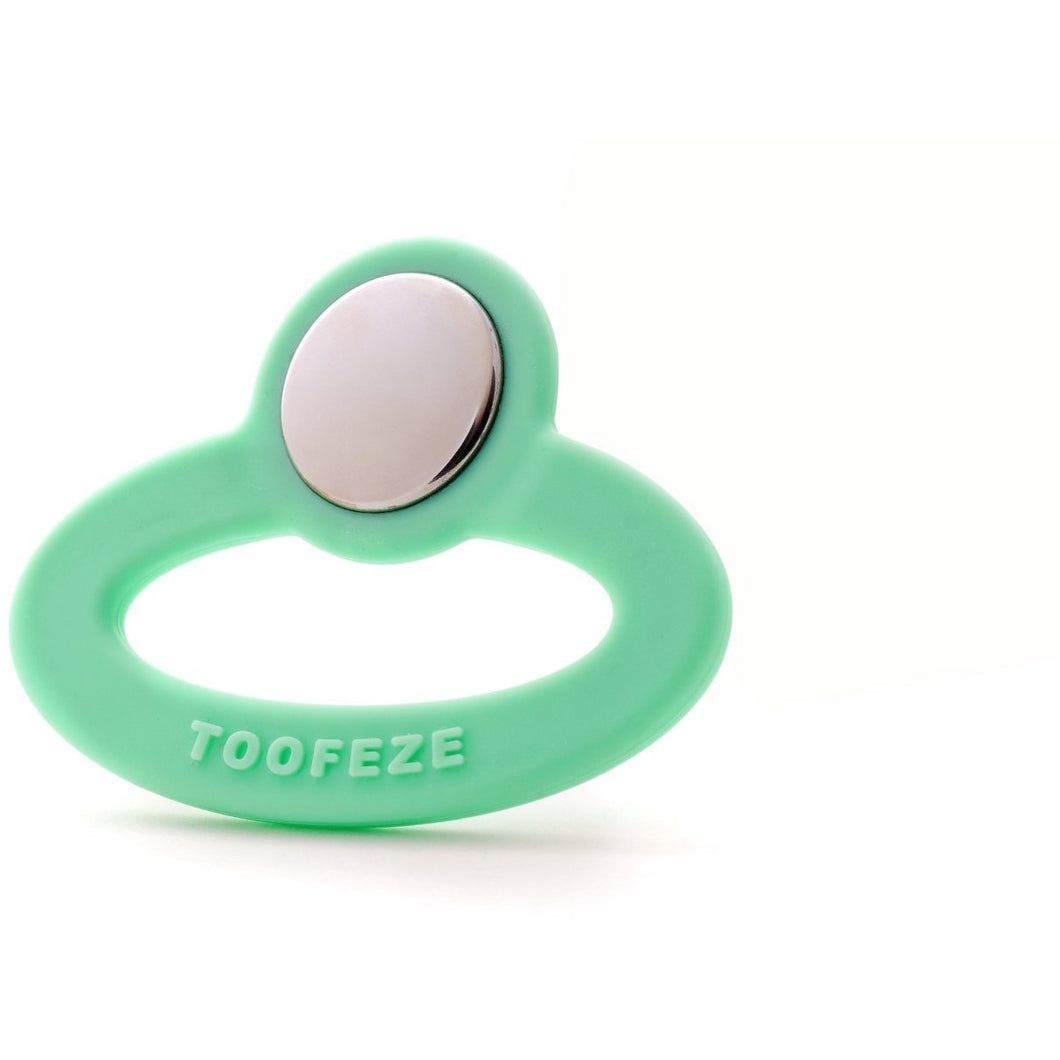 Toofeze Baby Teether/Soother, Green