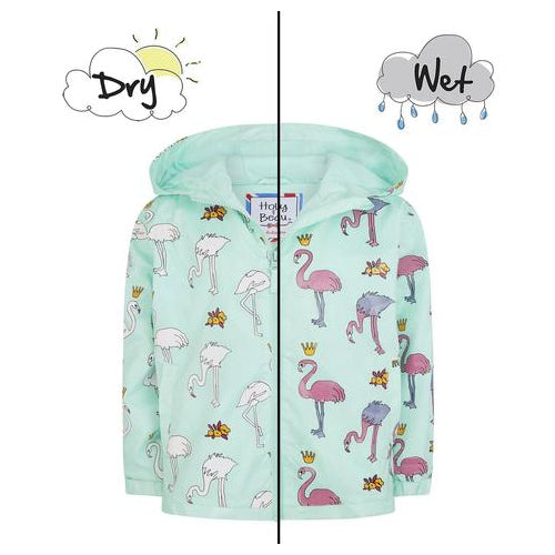 Magic Forest Flamingo Packaway Raincoat, 2 Yrs