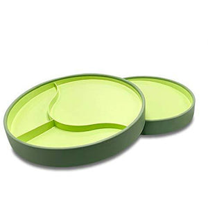 Stay-n-Eat - Large Plate-Green
